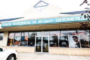 Vision Emporium sign and office exterior